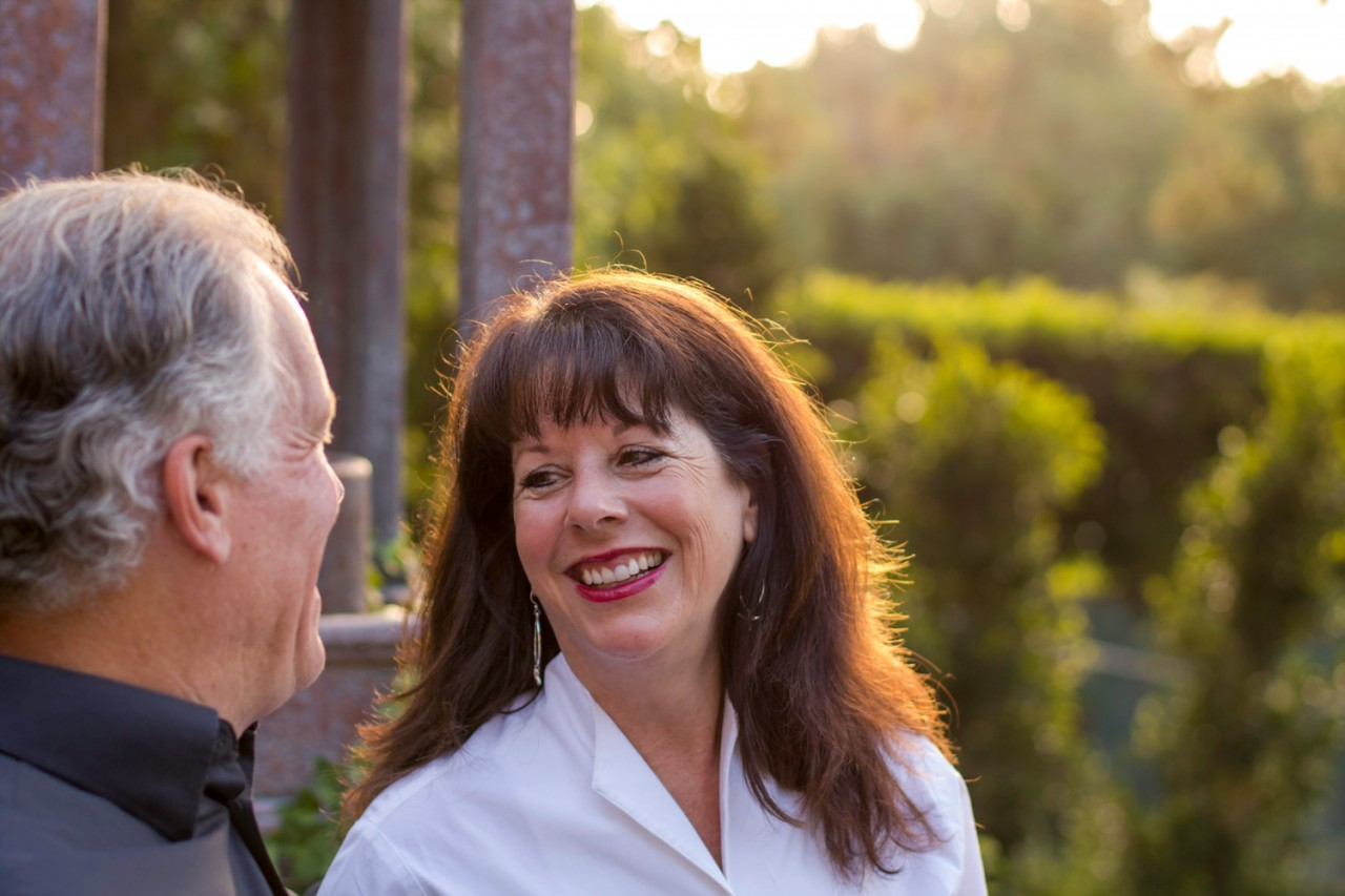 Portrait Photos of Mike and Georgette